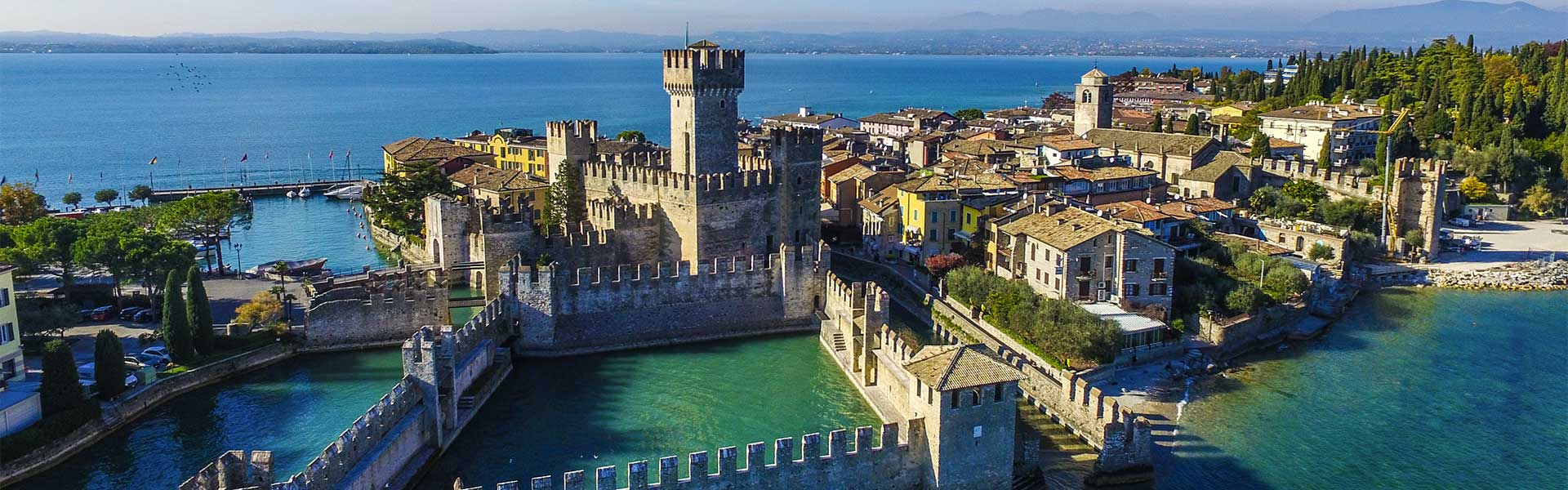 The Scaliger castle of Sirmione