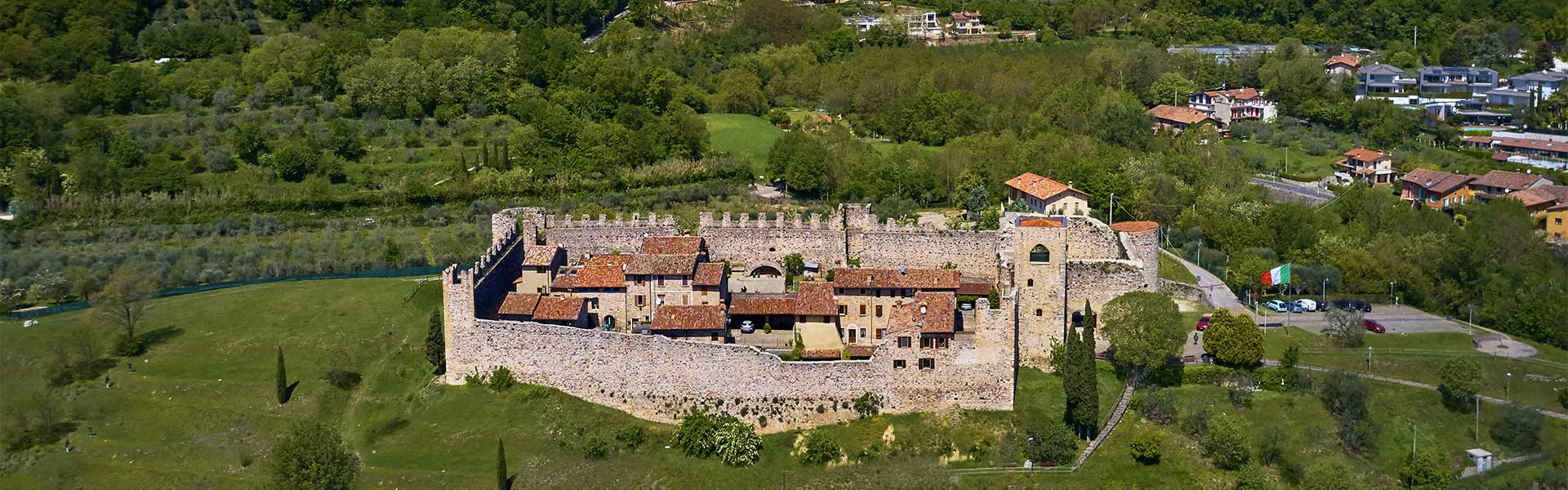 Die magische Aussicht auf Padenghe sul Garda